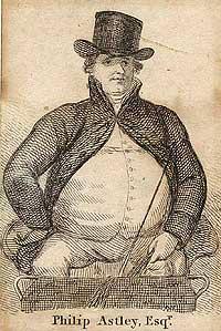 Philip Astley - der Pionier und Begründer des Zirkus