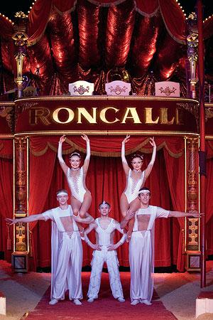 Stars von Circus Roncalli